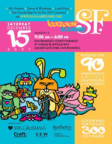 Bazaar Bizarre SF2007