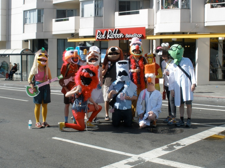 bay to breakers muppets 2009